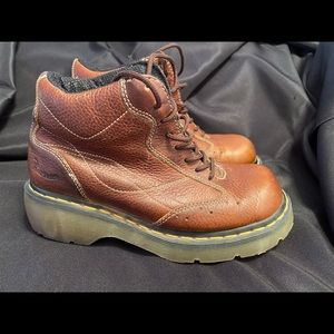 Dr. Marten's brown joking boots size 8